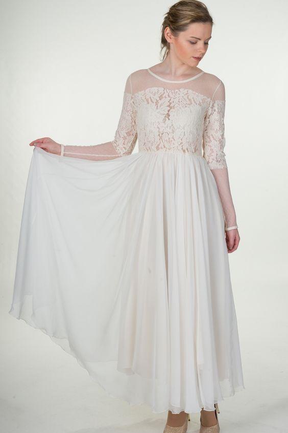 LILY J London - Victorian Lace Maxi Dress