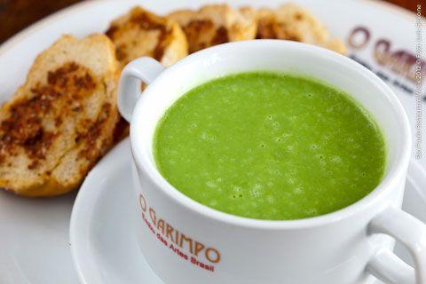 O Garimpo (jantar)    Caldo Verde