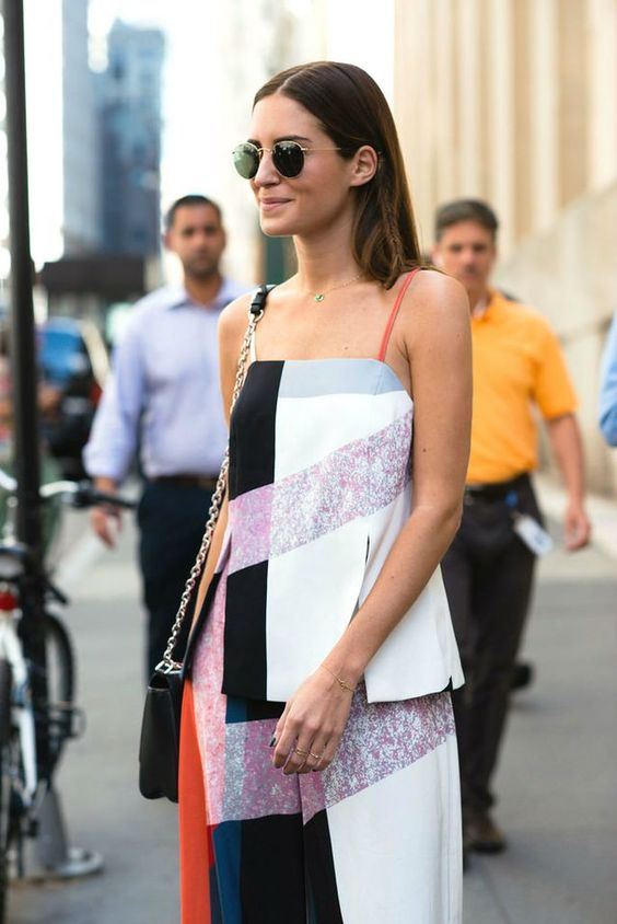 Look for the Day.446: NYFW outside Diesel