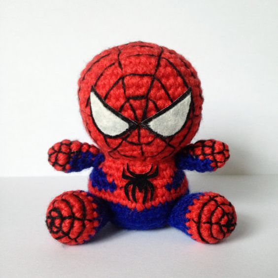 Spiderman Patr 243 N Amigurumi Superh 233 Roe Marvel Super Heroe