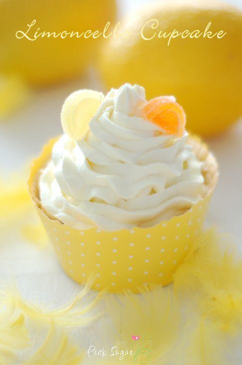Kessy's Pink Sugar: Limoncello Cupcakes und ein Amsterdamer Give away