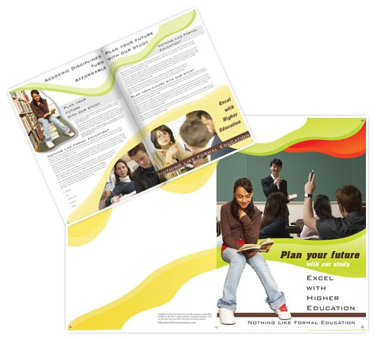Brochure For Education  Design Brochures
