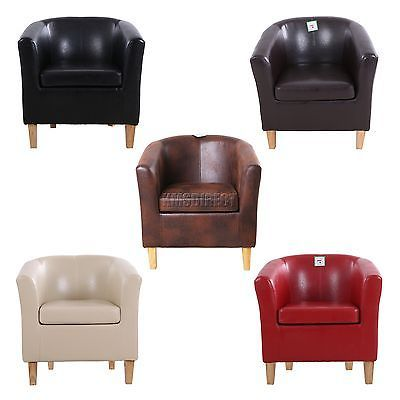 FoxHunter Faux Leather PU Tub Chair Armchair Dining Room Modern Office Furniture https://t.co/sH2BNvZkb6 https://t.co/6Hg1nMinKU