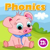 Phonics: Fun on Farm is a strong app for guiding reading readiness or beginner readers, as its focus is on traditional educational standards for phonemic awareness.