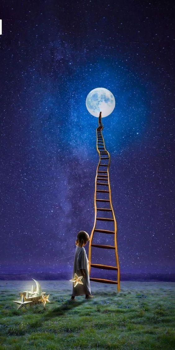 Lucid Dreams Night Sky Painting Night Sky Wallpaper Sky Painting Cong tv wallpaper hd