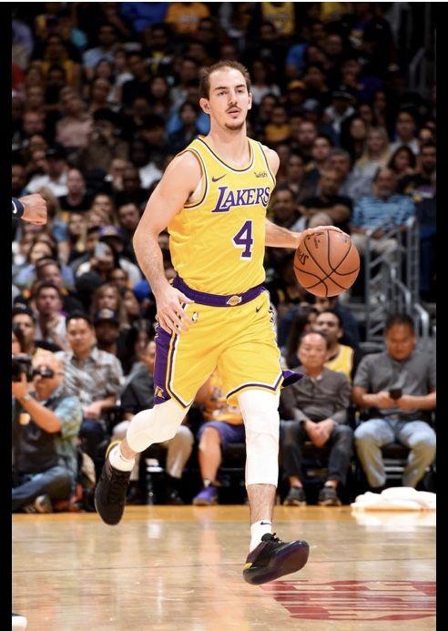 Alex Caruso Los Angeles Lakers Los Angeles Lakers Lakers Los Angeles