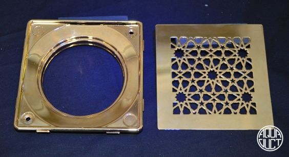 Morisco - gold plated with backing plate