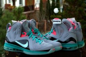 "Nike LeBron 9 P.S. Elite ""South Beach"""