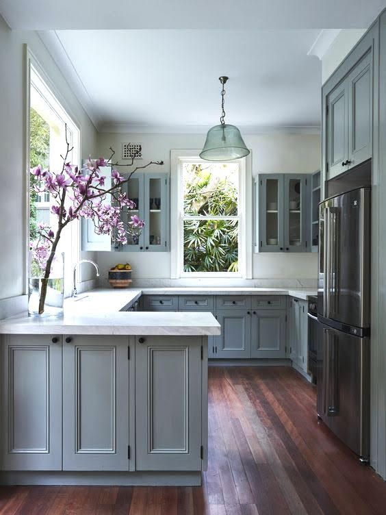 7 Polished Kitchen Peninsula Ideas To Consider Over A Standard Island Kitchen Remodel Small Kitchen Design Kitchen Remodel