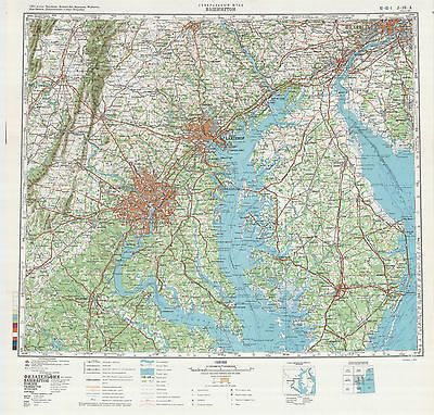 26 Awesome russian soviet military topographic maps