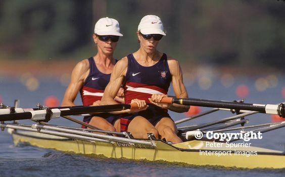 lindsay burns rower | , USA. USA LW2X, Teresa BELL , Lindsay BURNS .1996 Olympic Rowing ...