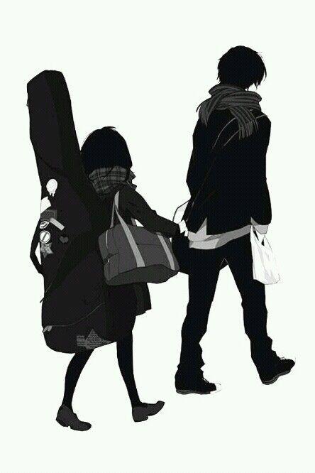 Pinterest the world s catalog of ideas - Dark anime couples ...