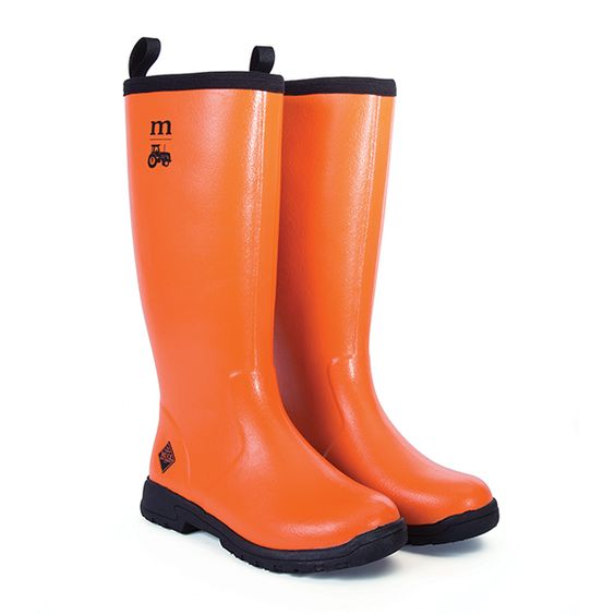 Orange Muck Boots - Boot 2017