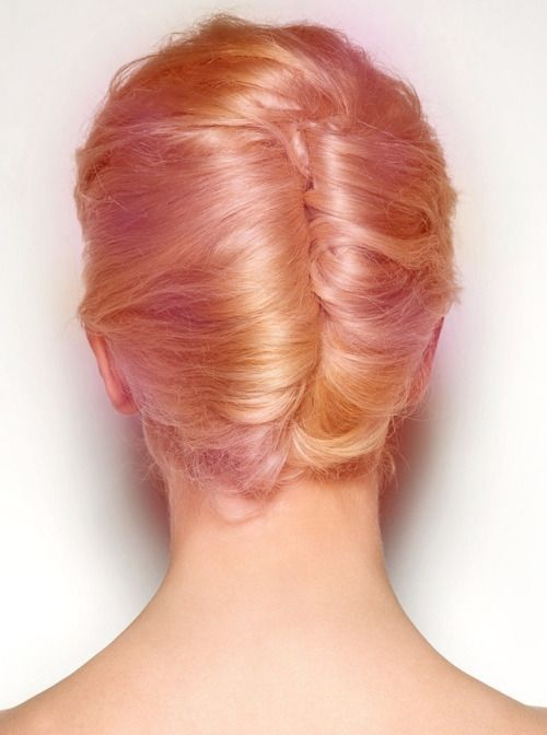 Sorbet hair.