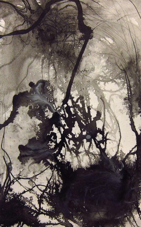 annedilorenzo: neuron still life Ink on Paper, 2011: