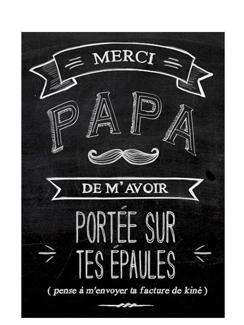 Bonne f te papa father 39 s day pinterest tes - Citation fete des peres ...