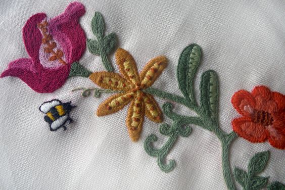 How to Embroider With Yarn