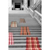 Found it at Wayfair - Woven Birmingham Red/White Indoor Area Rug