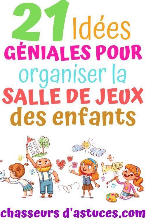 21 Idees Geniales Pour Organiser La Salle De Jeux Des Enfants Salle De Jeux Rangement Salle De Jeux Salle De Jeux Enfants