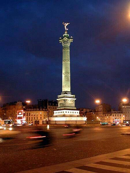 Place de la Bastille :: Paris :: France