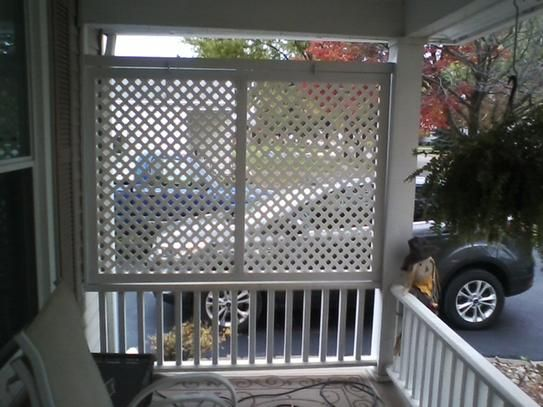 porch lattice