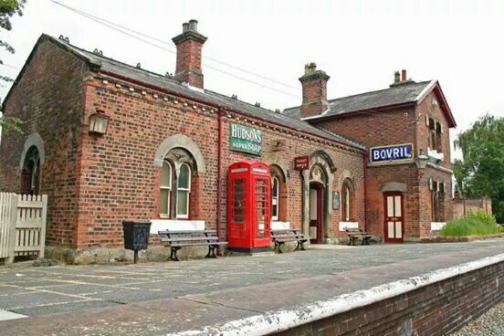 Hadlow road station Willaston. Preserved since the last train left in 1950's