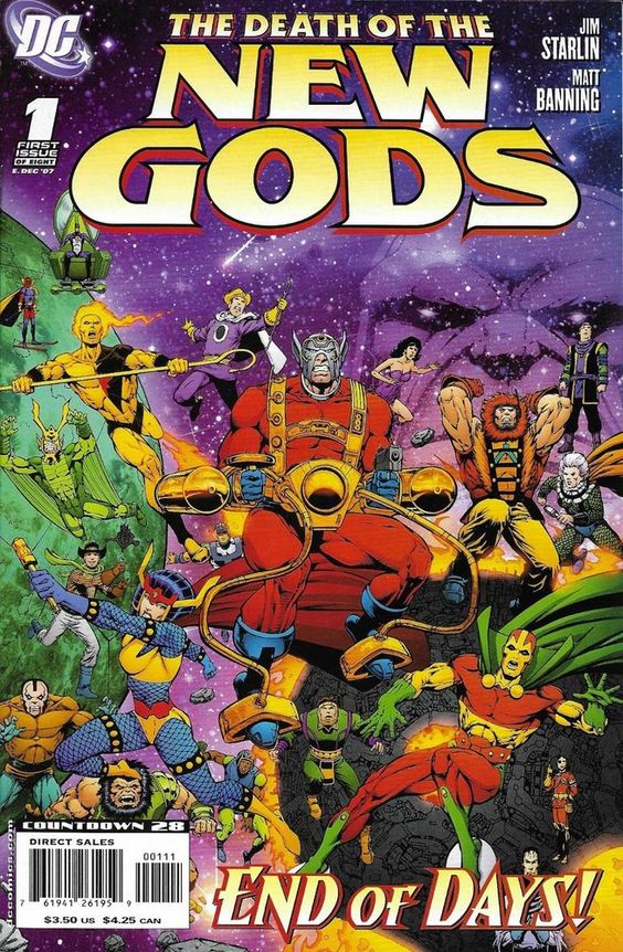 DC Death of the New Gods comic issue 1
