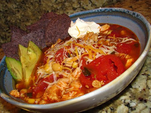 Tortilla soup, Tortillas and Soups on Pinterest
