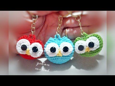 طريقة عمل ميداليه او دلاية على شكل بومه Youtube Baby Cocoon Pattern Baby Cocoon Crochet Earrings