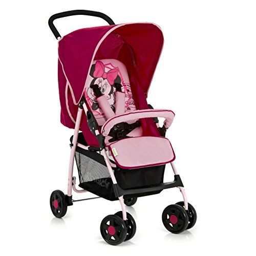 Hauck Poussette Canne Caviar / Tango, Minnie rose   Your #1 Source for Baby Products