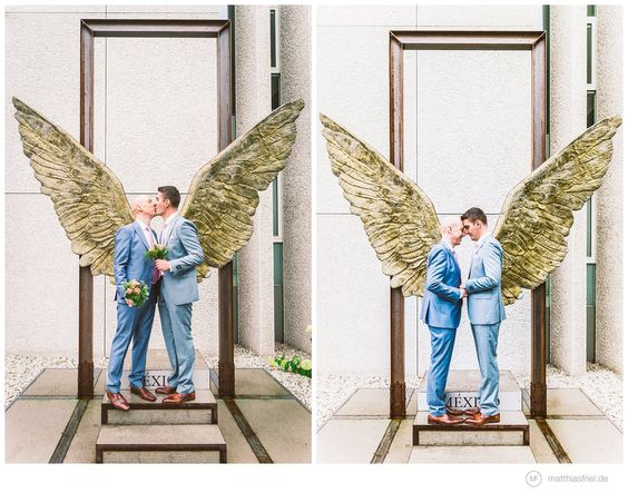 beautiful pictures of a charming same sex wedding in Berlin @ www.matthiasfriel.de
