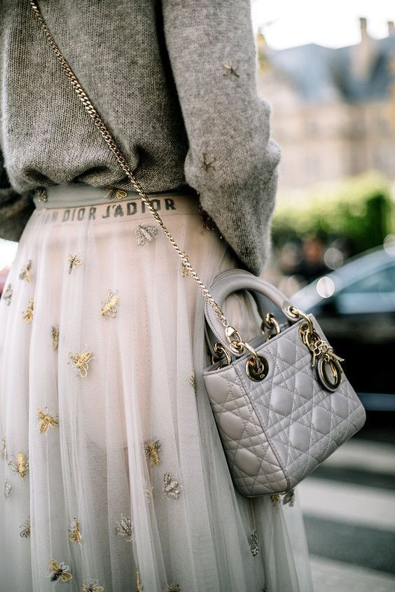 Best Designer bags / fashion week street style #desginerbag #fashionweek #luxury #streetstyle #fashion / Pinterest: @fromluxewithlove