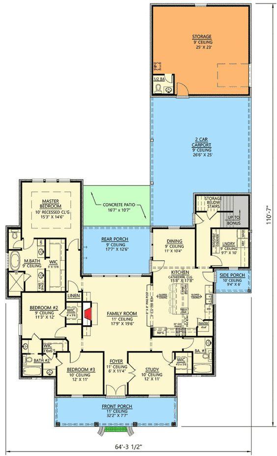 Pinterest the world s catalog of ideas for Acadian house plans with bonus room