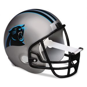 ATTENTION sports fans! Tackle your projects with the help from this Charlotte Carolina Panthers NFL helmet scotch tape dispenser from 3M for your home and office. A great gift idea!