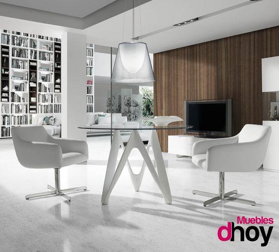 Mesa de comedor SKYLINE. Original y creativo diseño de líneas ...