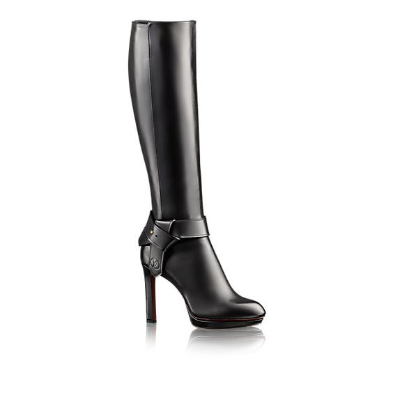 Bota de Cano Alto Belted - - Sapatos | LOUIS VUITTON