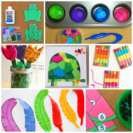 Spring Explore Tubs {Take Two!} - Little Minds at Work