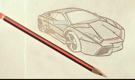 How To Draw Lamborghini Drawings Pencil Drawings Draw