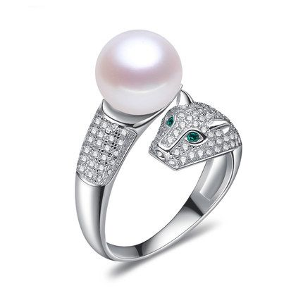 925 sterling silver Pearl Jewelry Of Silver Leopard Pearl Ring //Price: $30.00 & FREE Shipping //     #beautiful