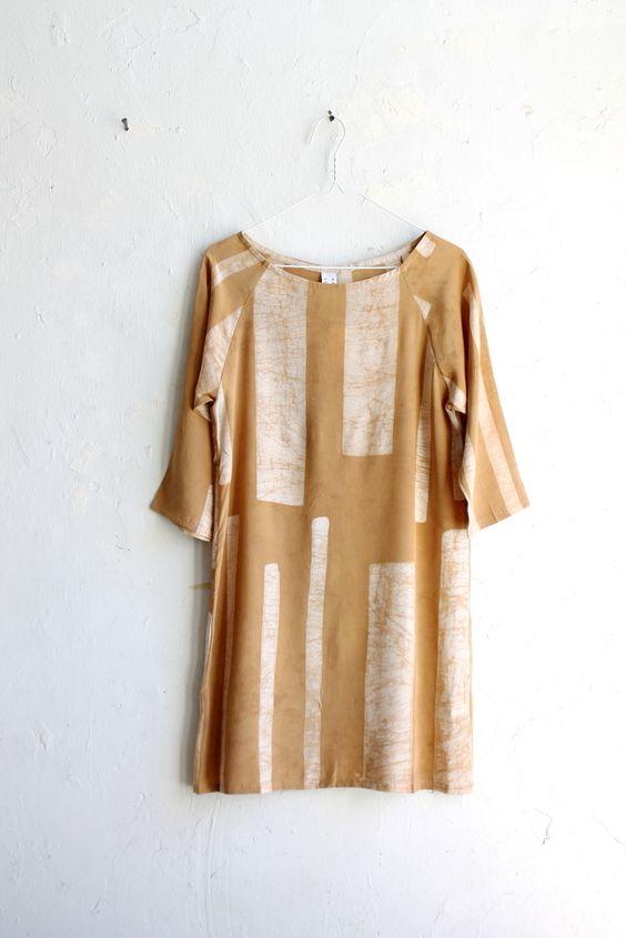 Image of Osei-Duro  Linter Dress Desert Parallel