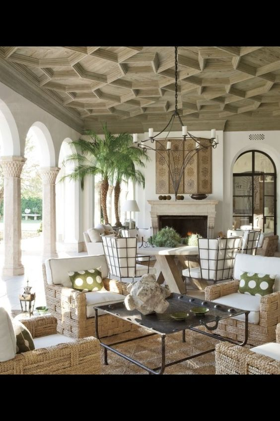Fireplaces sisal rugs and galleries on pinterest for Elegant patios