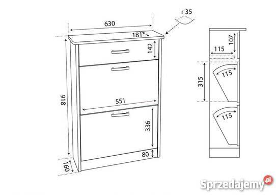 Aro 01 N Szafka Na Buty 5 Kolorow Darmowa 94cm Krakow Sprzedam Furniture Decor Filing Cabinet