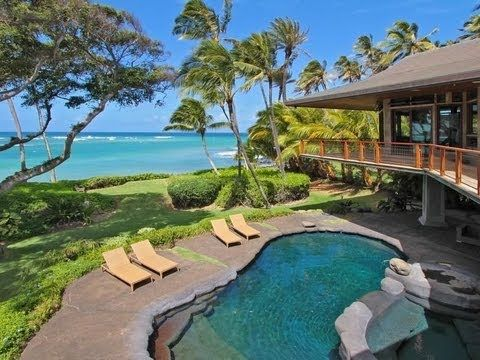 Video tour: Most perfect beachfront home ever... in Maui!