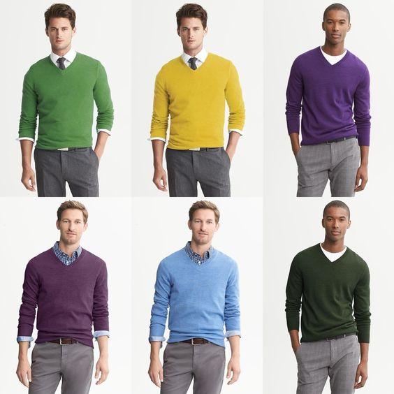 Uma ilustração sobre o uso de cor.  Dudes Modernos - Tudo o que um dude moderno precisa saber pra viver. Com estilo, é claro.