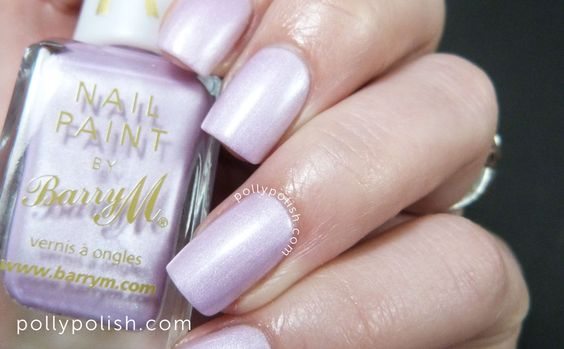 Barry M Silks 'Heather' nail polish on pollypolish.com