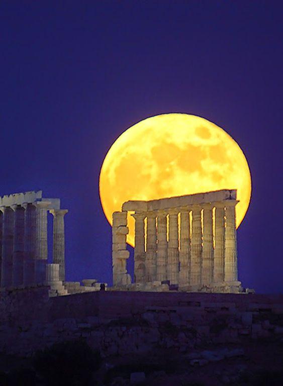 The Temple of Poseidon, Cape Sounio Greece: