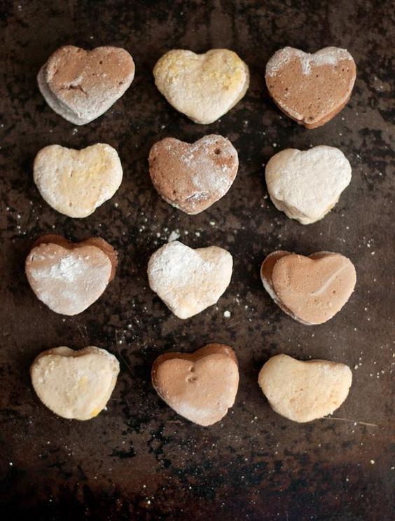 Share the <3 with marshmallows.