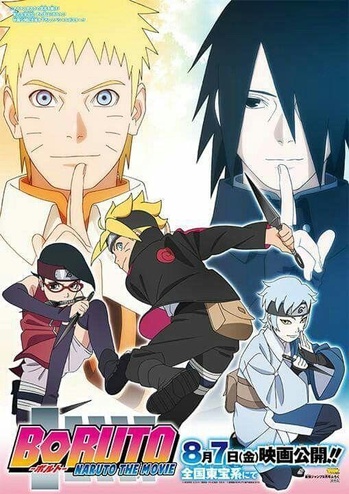 Official Naruto Boruto Art Photo Naruto The Movie Boruto Movie Boruto