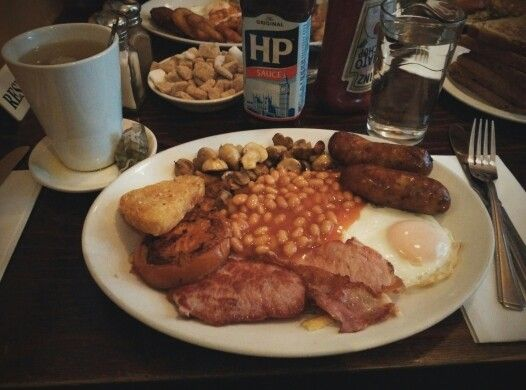 British breakfast, London, UK