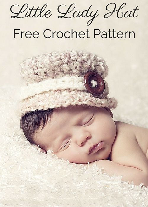 Little Lady Crochet Hat Pattern: